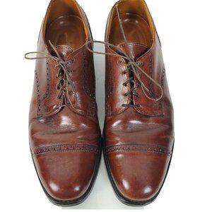 Allen Edmonds Sz 11 Benton Oxford Cap Toe Shoes